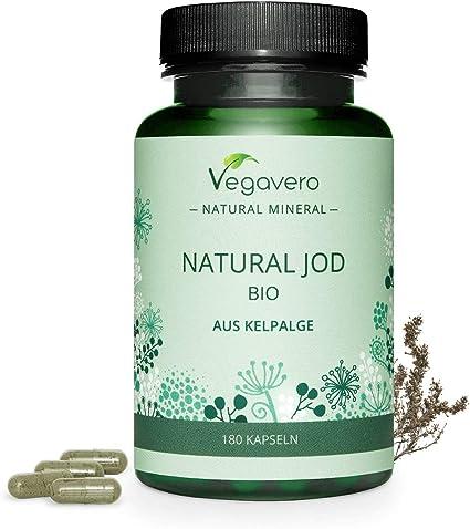 BIO Yodo Natural Vegavero® | 150 mcg=100% CDR | Procedente de ...