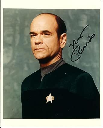 "Robert Picardo ""the Doctor"" Star Trek Autographed Signed ..."