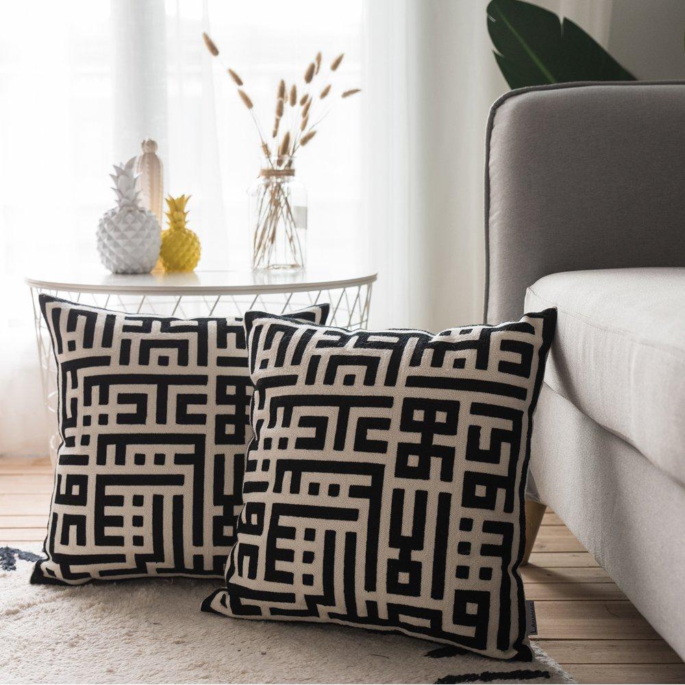Amazon.com: LANANAS - Fundas de almohada modernas ...