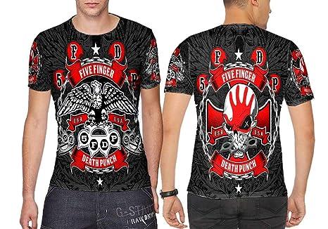 Amazoncom Dreamcustombdg Five Finger Death Punch Art 4 Fans
