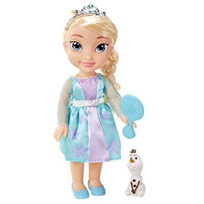 Disney Frozen Toddler Elsa Doll with Reflection Eyes: Toys & Games