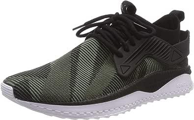 Puma Tsugi Cage Dazzle, Zapatillas Unisex Adulto, Verde (Forest Night Black-Laurel Wreath 01), 40.5 EU: Amazon.es: Zapatos y complementos
