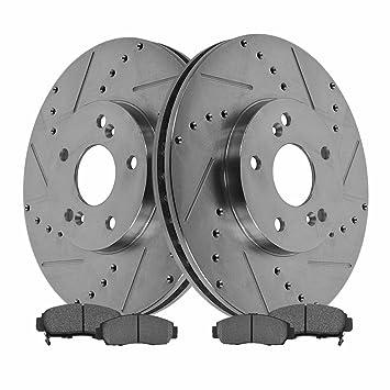 Amazoncom Rotor Brake Pad Semi Metallic Perfor Acura TL TSX CL - Acura tl brake pads