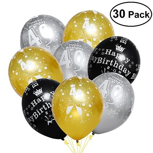 Toyvian 40.os globos, kit de globos de látex para la fiesta ...
