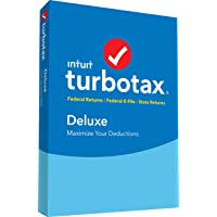TurboTax Deluxe + State 2018 Tax Software Deals