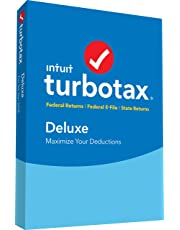 TurboTax Deluxe + State 2018 PC/Mac Disc [Amazon Exclusive]