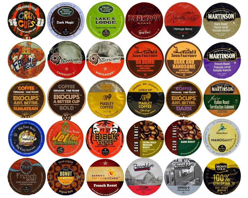 Crazy Cups Coffee Variety Sampler Pack 40 Count Amazon