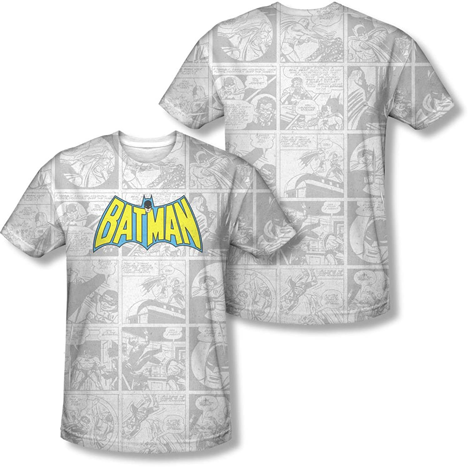 Dc - Mens Vintage Bat Strip T-Shirt