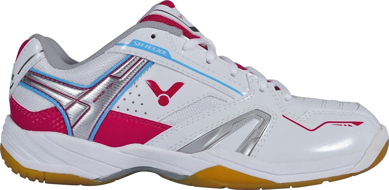 VICTOR SH-A320L Damenschuh  Sportschuh  Indoor Sportschuh    Badmintonschuh   Squashschuh   Hallenschuh Weiß Rosa Größe 41 3190bd