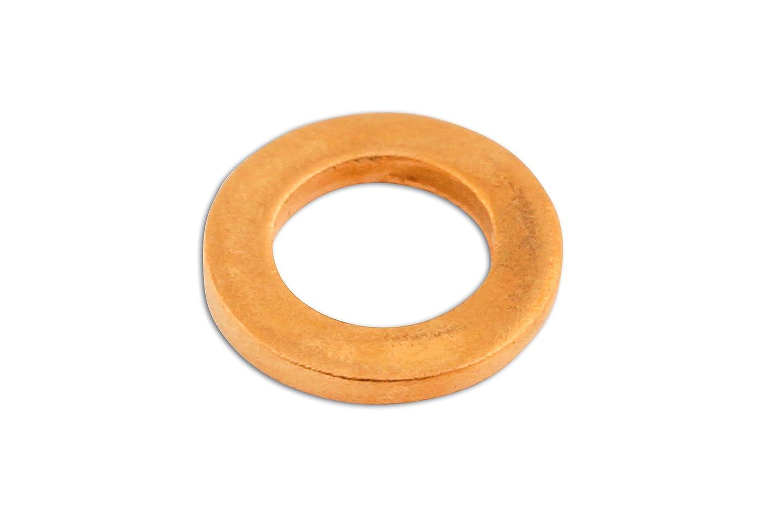 connect 31833 Rondelle d'étanchéité en cuivre M12 x 18 x 1, 5mm 5mm The Tool Connection Ltd.