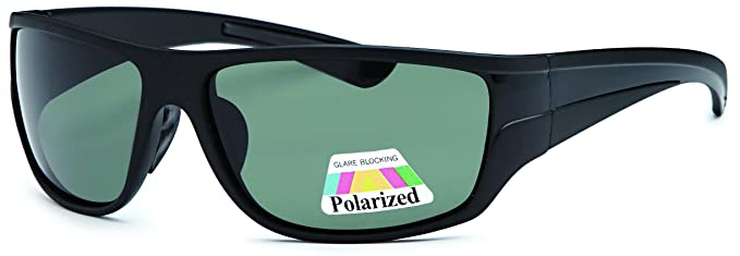 Amazon.com: West Coast anteojos de sol polarizadas Wrap ...