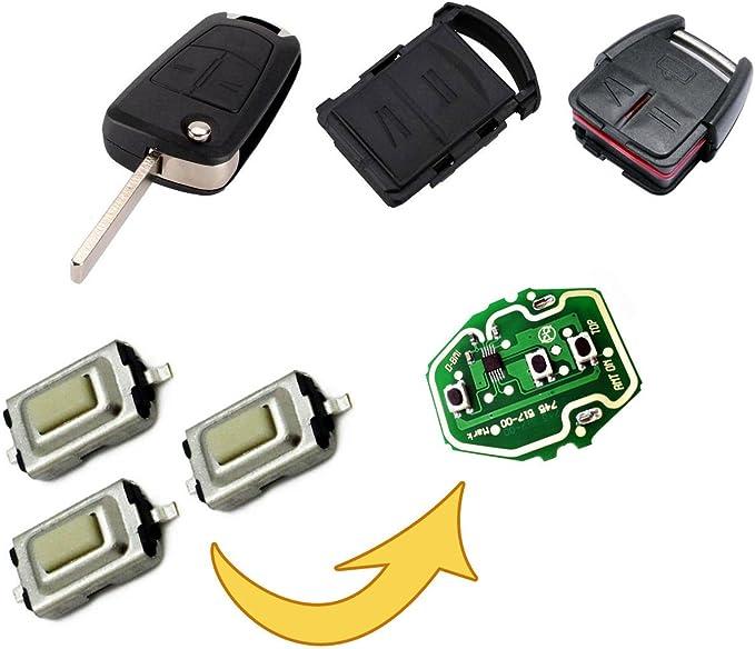 Myshopx Taster Micro Smd Taster Microtaster Taster Fernbedienung Schlüssel Fernbedienung Autoschlüssel Mp08 Auto