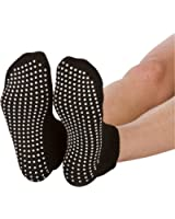 Skyba Non Slip Socks for Women- Grips for Yoga, Barre & Pilates- (2 Pairs)