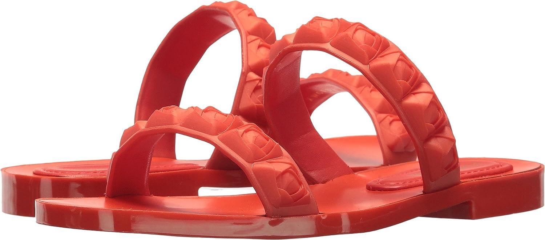 Stuart Weitzman Women's Rosita Slide Sandal B077YT7989 7 B(M) US Lipstick Taupe