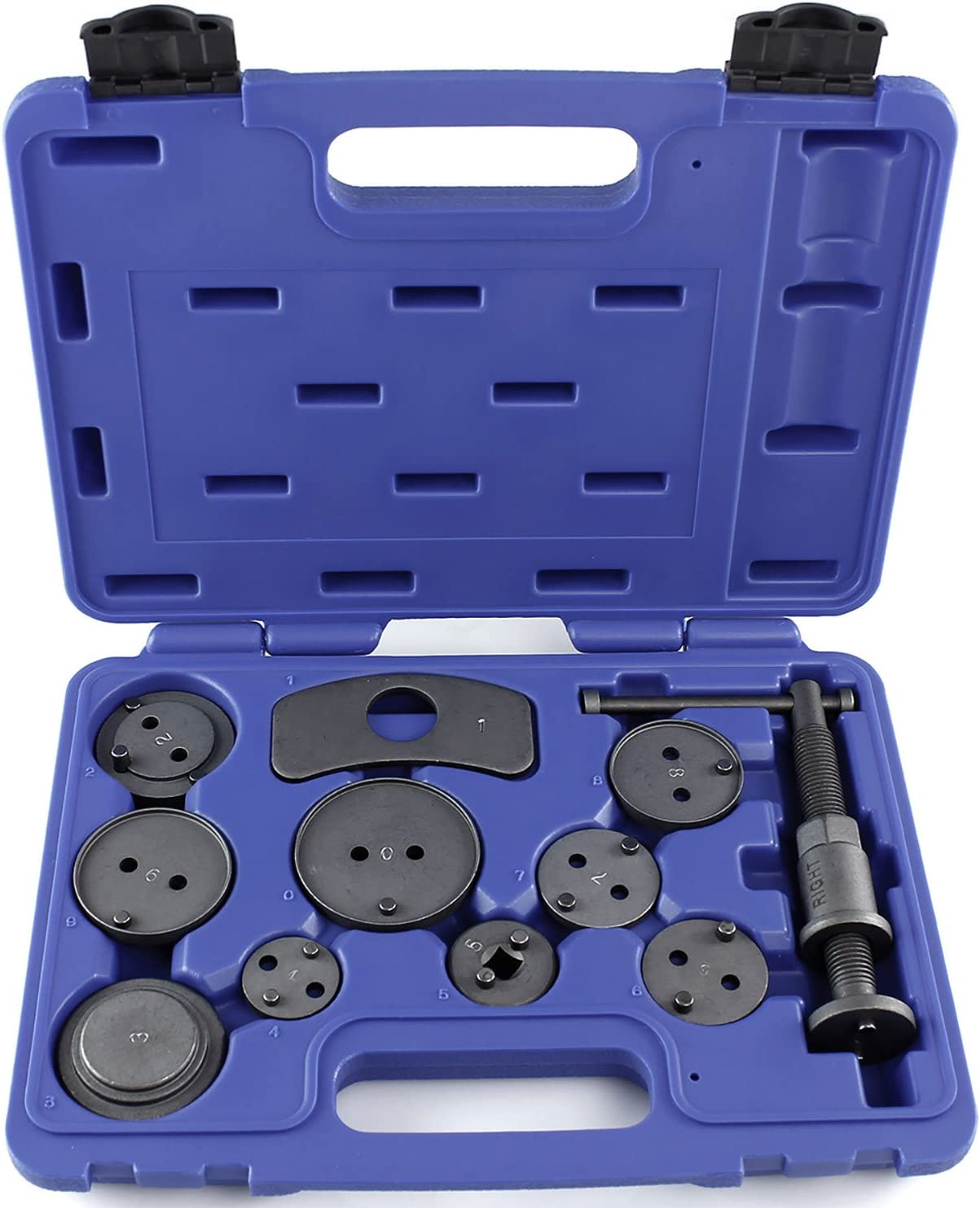 OrionMotorTech 24PCS Master Disc Brake Piston Caliper Compressor Spreader Tool Set Renewed Brake Pad Replacement Reset Wind Back Kit