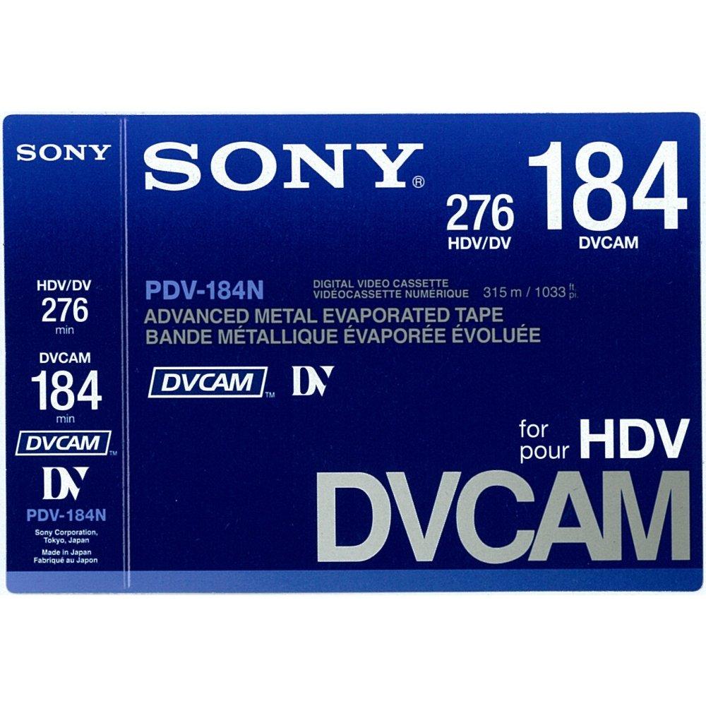 Sony PDV184N DVCAM 184 Minute Tape PDV-184N