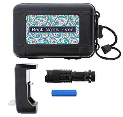 christmas gifts for nana best nana ever led flashlight with case and charger gift bundle tactical