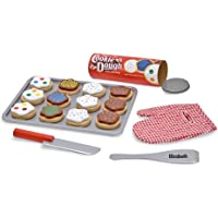 Melissa & Doug Personalized Slice and Bake Wooden Cookie Play Food Set