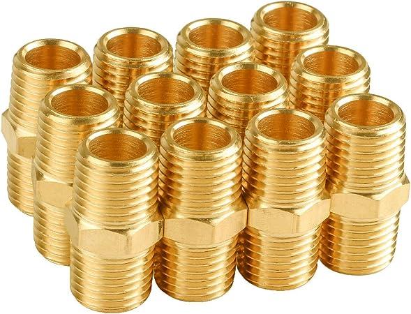 Steel 4 4 Federal Hose PS-4 Threaded Nipple