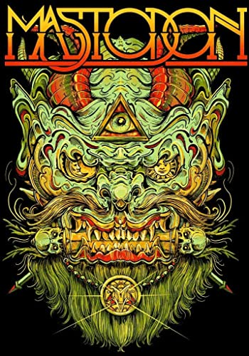 Amazon Com Mastodon Print Geek Poster Geek Show Poster Music Decor Unframed Poster Rock Music Print Christmas Gift New 2020 Poster New Year Gift Christmas Gift Handmade