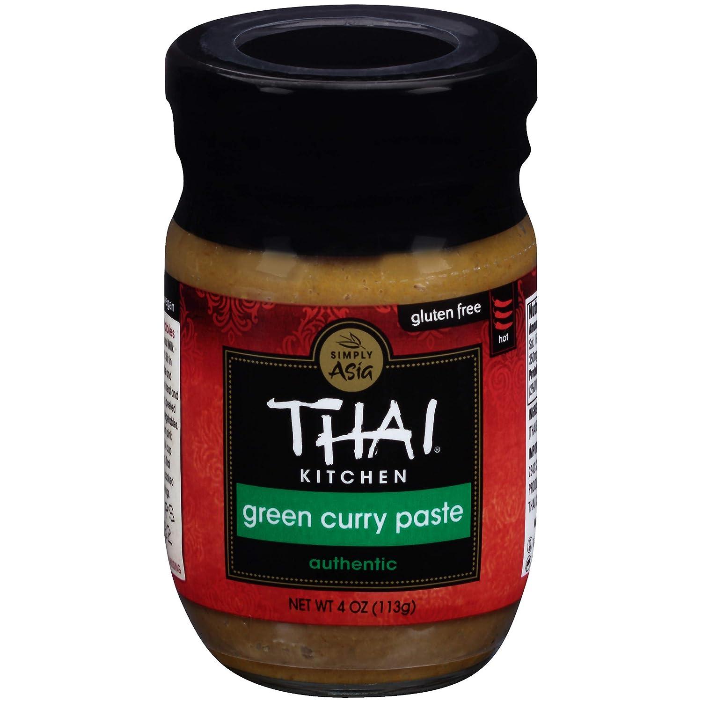 Thai Kitchen Gluten Free Green Curry Paste, 4 oz