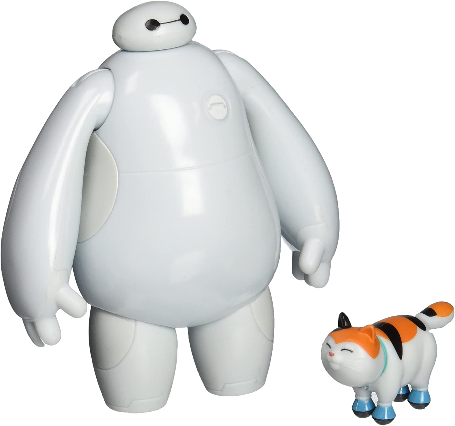 Amazon Com Big Hero 6 4 Baymax And Mochi Action Figure Set Toys Games