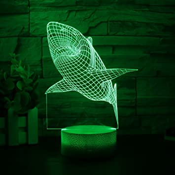 Amazon.com: Regalo ideas Night Lights 3d Ilusión lámpara ...