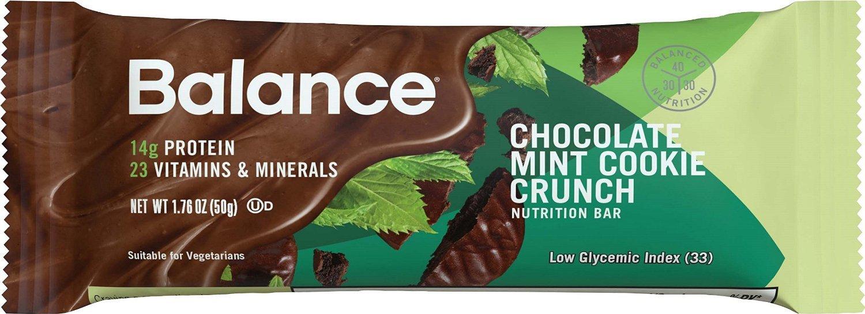 Balance Bar® Chocolate Mint Cookie Crunch, 1.76 ounce bars, 6 count