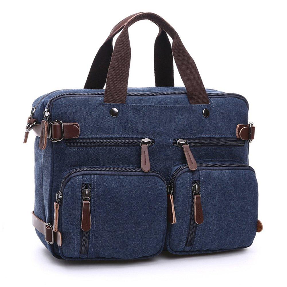 DREAM.ELK Laptop Briefcases 13.3-15.6 Inch Messenger Bag Handbag Include shoulder strap Sleeves Shoulder Bags Men Women for Notebook MacBook Ultrabook Chromebook Computers,15.6 Inch,navy blue