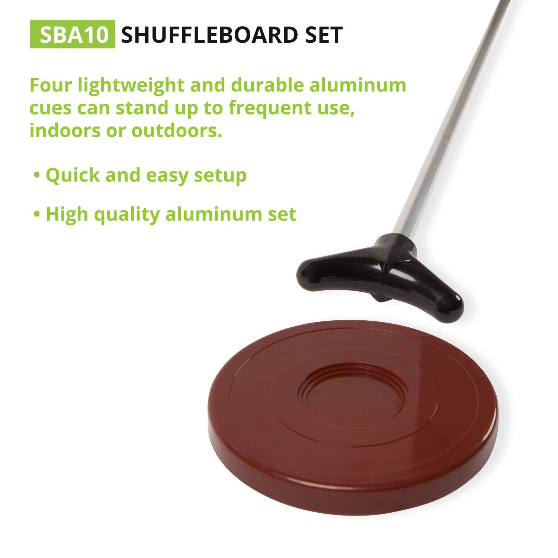 amazon com classic group games shuffleboard set champion sports