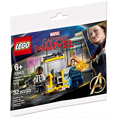 LE Lego Set #30453 Captain Marvel and Nick Fury 2020 Limited Edition Polybag: Toys & Games [5Bkhe2002149]
