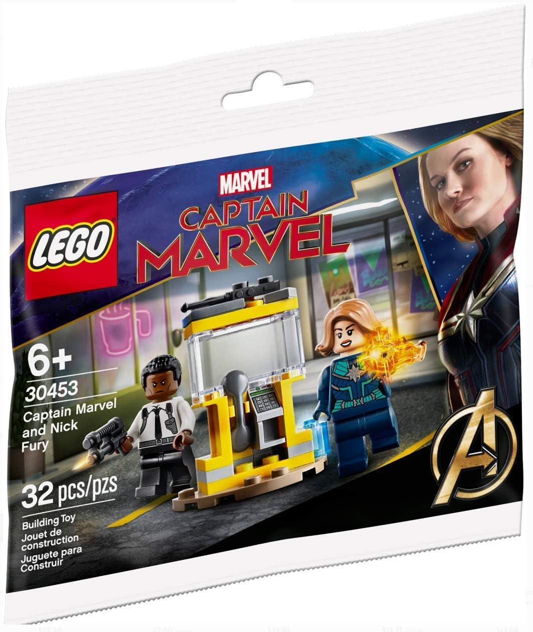 LE Lego Set # 30453 Capitán Marvel y Nick Fury 2020 edición Limitada Bolsa de plástico