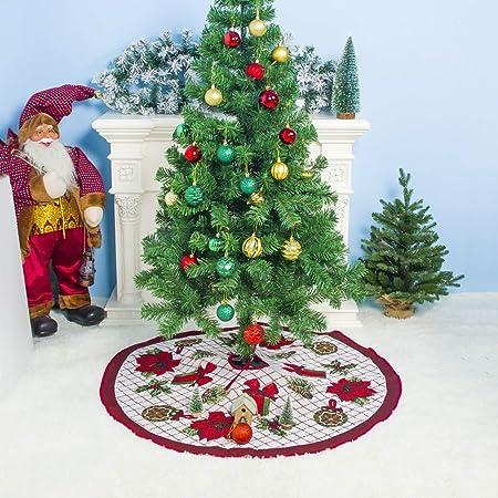 LiXiZhong Navidad Falda del Árbol - Fiesta De Navidad Accesorios ...