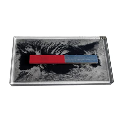 """American Educational Magnetic Lines of Force Demonstration, 8-3/4"""" Length x 4-3/4"""" Width x 7/16"""" Height: Industrial & Scientific"""
