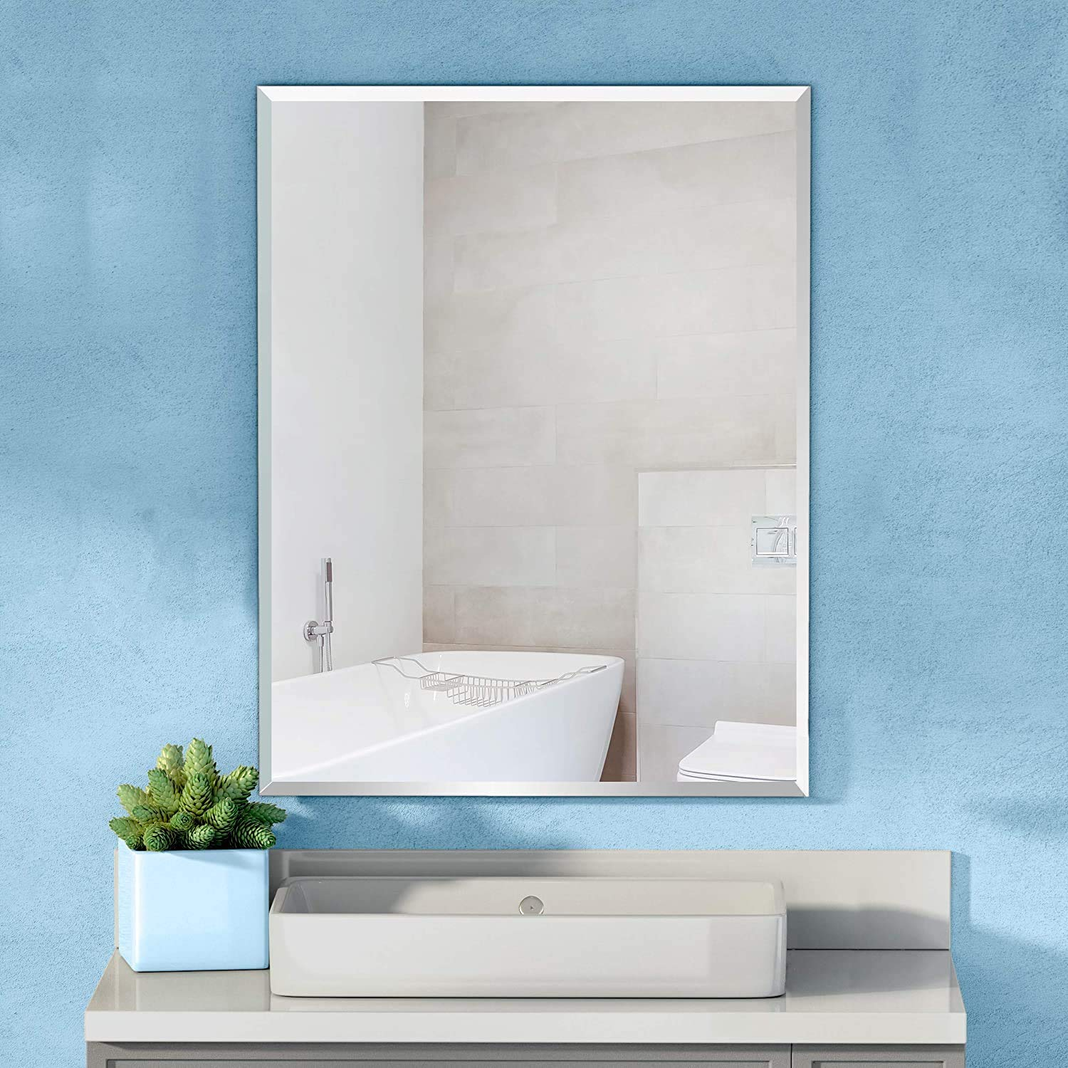 Buy Creative Arts N Frames Wall Mirror For Bathroom Bedroom Drawing Room And Wash Basin 15 X 21 Inch Online At Low Prices In India Amazon In