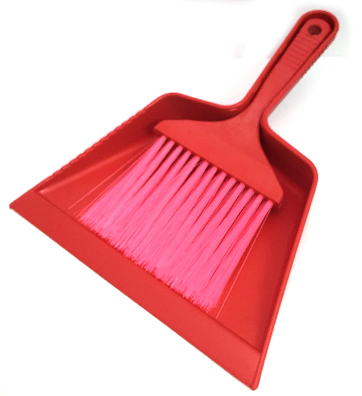 Multipurpose Mini Dustpan and Brush Set - Tiny Sweeper Household Handbroom Pack - Indoor/Outdoor Dust and Dirt Cleaner - One Size, Comes in Assorted Colors