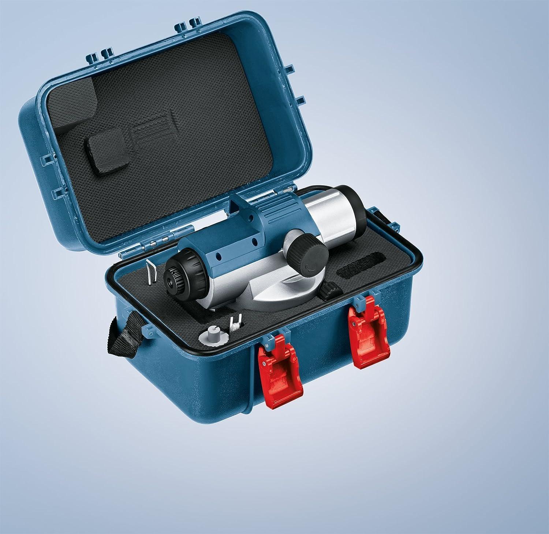 tr/ípode BT 160 regla graduada GR500 Bosch Professional Nivel /óptico GOL 26 G malet/ín 26 aumentos