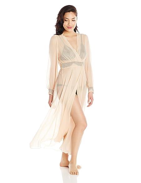 Specimens Of Seduction Women\'s Sheer Romance Full Length Silk ...