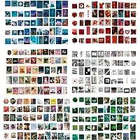 EXCEART 600Pcs Scrapbook Stickers Vintage Journal Kaart Maken Embellishments Collage Decoupage Papier Kaarten Voor…