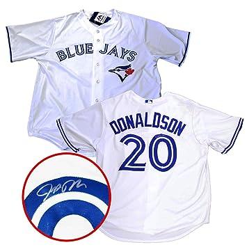 the best attitude 09b41 92dae Amazon.com: Frameworth Josh Donaldson Signed Jersey Toronto ...