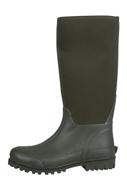 Mountain Warehouse Neoprene Mucker Casual Mens Wellies - Waterproof Rain  Boots, Easy Wipe Clean Wellington Boots, Durable, Sturdy Shoes - for  Walking, ...