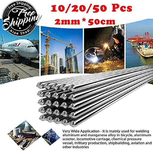 Easy Melt Welding Rods Suitable for All White Metals 50