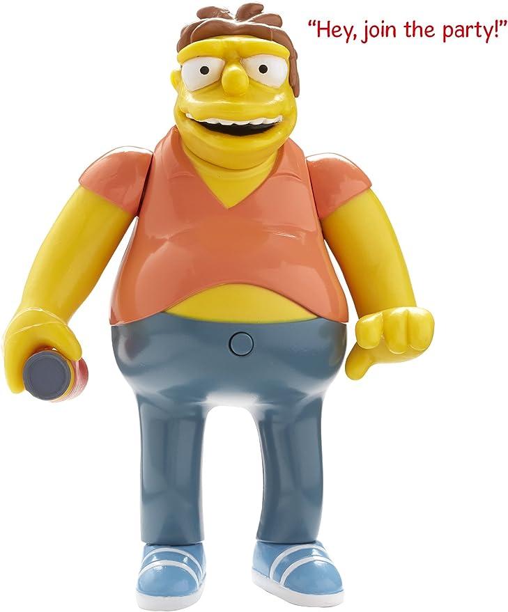 The Simpsons - Figura de Barney Simpsons con Sonido: Amazon.es: Juguetes y juegos
