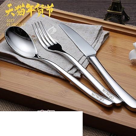 Mesa, accesorios de vajilla/cubiertos/mesa/juego de cubiertos/cubiertos en caja/platos de carne/portátil utensilios: Amazon.es: Hogar