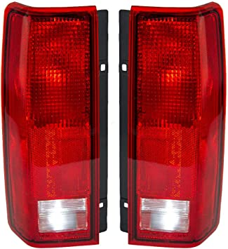 Left /& Right Replacement Rear Lamp Taillights RVLightings Fleetwood American Tradition 1996-2000 RV Motorhome Pair