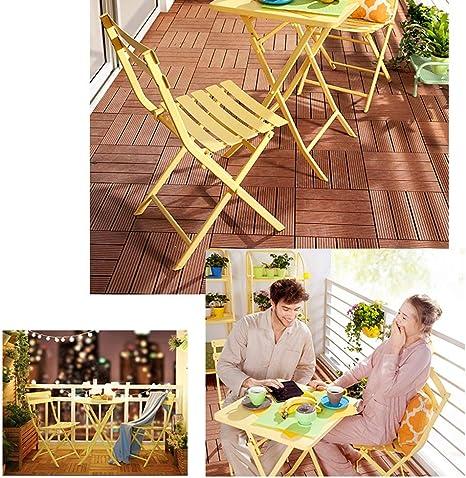 HUO Mesa Plegable Cuadrada Mesa De Comedor Simple, Mesa De Centro ...