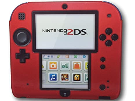 quite nice b2f6d 1a0fc Amazon.com: PDP Silicone Case/cover for Nintendo 2DS (Red): Video Games