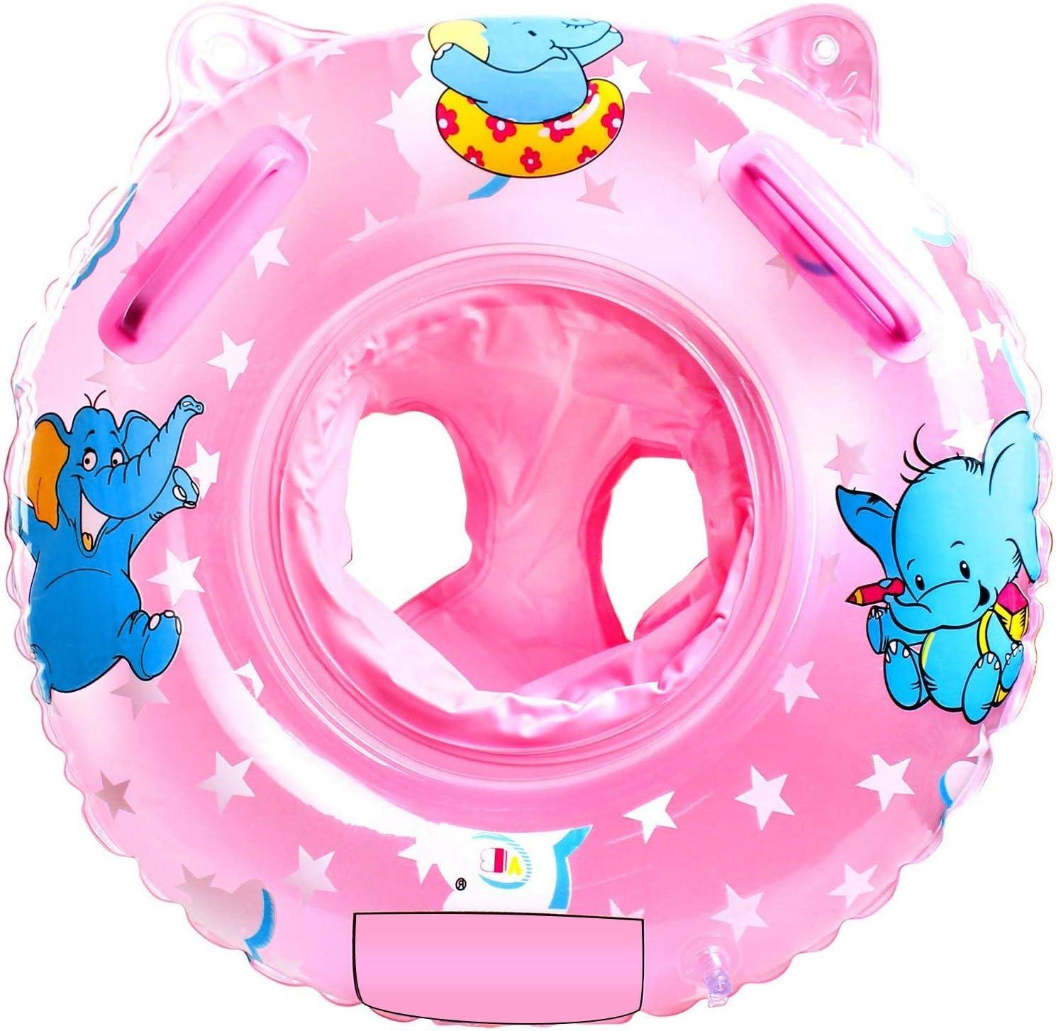 Jiahuade Flotador de Aprendizaje,Flotador Cuello Bebe,Flotadores para Bebés,Anillo de Natación Bebé,Flotador para Bebe Piscina,Flotador Anillo de Natación,Anillo de Natación para Bebé (B)