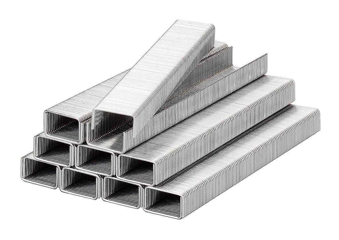 KWB Klammern, Typ 057/357, Flachdraht, Stahl, C-Spitze, 357-108