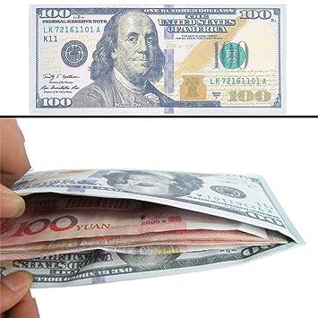 Unisex Moneda Notas Patrón Libra Dólar Monedero Euro ...